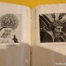 Postales: GRAN COLECCION ANTIGUOS +130 RECORTES PRENSA ORIGINALES DE LA SEMANA SANTA DE SEVILLA VIRGEN CRISTO. Lote 112914463