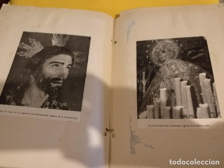 Postales: GRAN COLECCION ANTIGUOS +130 RECORTES PRENSA ORIGINALES DE LA SEMANA SANTA DE SEVILLA VIRGEN CRISTO - Foto 9 - 112914463