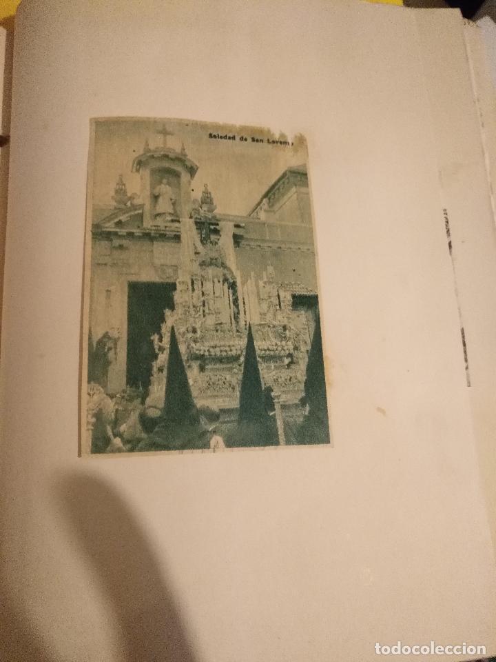 Postales: GRAN COLECCION ANTIGUOS +130 RECORTES PRENSA ORIGINALES DE LA SEMANA SANTA DE SEVILLA VIRGEN CRISTO - Foto 21 - 112914463