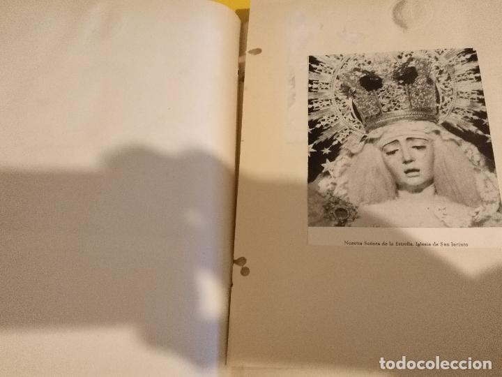 Postales: GRAN COLECCION ANTIGUOS +130 RECORTES PRENSA ORIGINALES DE LA SEMANA SANTA DE SEVILLA VIRGEN CRISTO - Foto 55 - 112914463
