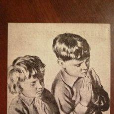 Postales: ESTAMPA O CROMO FIESTA DEL CATECISMO - 1 DE JUNIO DE 1947. Lote 112936875