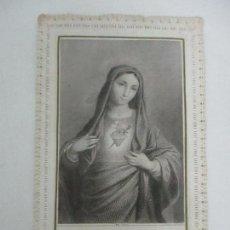 Postales: PRECIOSA ESTAMPA RECUERDO - PAPEL TROQUELADO Y CALADO - S. XIX. Lote 112964283