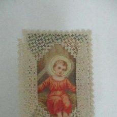 Postales: PRECIOSA ESTAMPA RECUERDO - PAPEL TROQUELADO Y CALADO - S. XIX. Lote 112965311