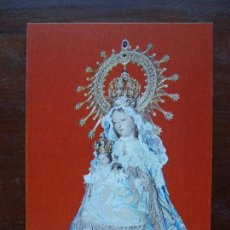 Postales: VIRGEN DE LA FUENCISLA PATRONA SEGOVIA POSTAL. Lote 113066287