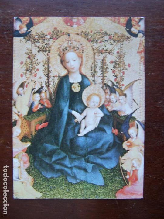 Stefan lochner La virgen en el jardín de Rosas Wallraf Richartz Museo  Colonia Recordatorio navideño