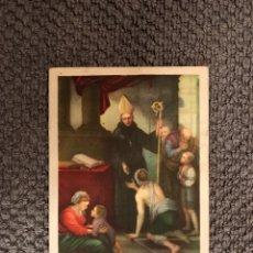 Postales: SANTO TOMAS DE VILLANUEVA. AGUSTINO (H.1950?). Lote 113203075