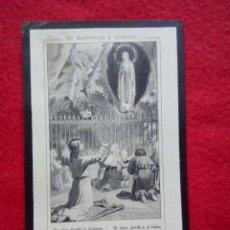 Postales: TUBAL CASTILLEJA DEL CAMPO (SEVILLA) 1903 ESQUELAS RECORDATORIOS JACULATORIAS. Lote 113479267