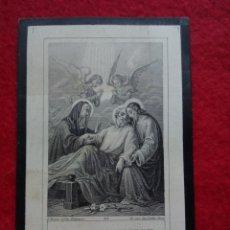 Postales: TUBAL CASTILLEJA DEL CAMPO (SEVILLA) 1903 ESQUELAS RECORDATORIOS JACULATORIAS. Lote 164962376