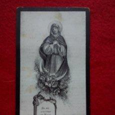 Postales: TUBAL VALENCINA (SEVILLA) 1904 ESQUELAS RECORDATORIOS JACULATORIAS. Lote 113479859