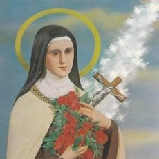 Postales: POSTAL - SANTA TERESITA DEL NIÑO JESUS - Nº 15 - ED. ESCUDO DE ORO - AÑO 1974 - NUEVA . Lote 113730835