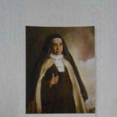 Postales: ESTAMPA RELIGIOSA SANTA MARAVILLAS DE JESUS. CARMELITA DESCALZA. TDKP1. Lote 113999299