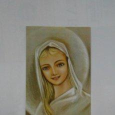 Postales: ESTAMPA RELIGIOSA TRONO DE LA SABIDURIA RUEGA POR NOSOTROS. TDKP1. Lote 114004687