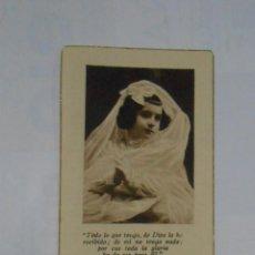 Postales: RECORDATORIO DE DEFUNCION 13 DE MAYO DE 1927. GRANADA. TDKP1. Lote 114005787