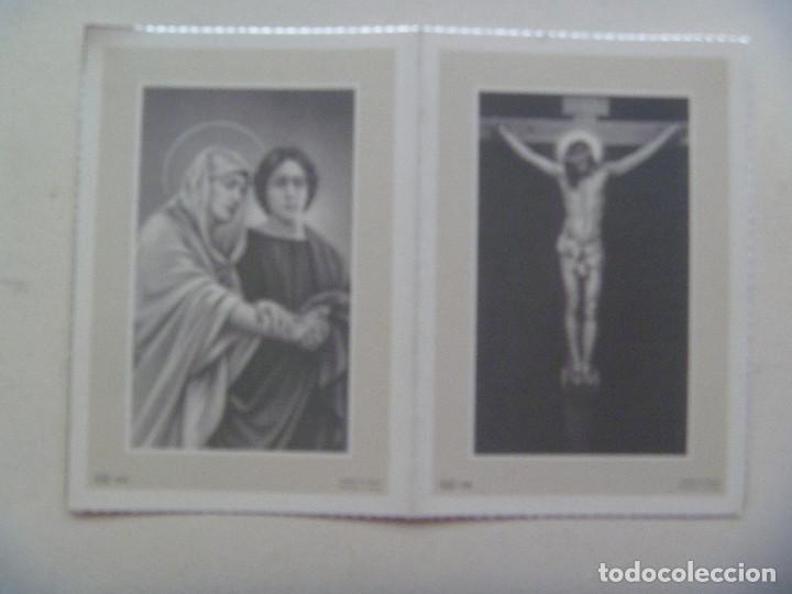 RECORDATORIO DE SEÑORA FALLECIDA EN MADRID EN 1960 (Postales - Postales Temáticas - Religiosas y Recordatorios)