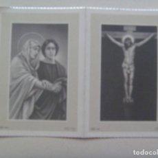Postales: RECORDATORIO DE SEÑORA FALLECIDA EN MADRID EN 1960. Lote 114025835