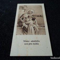 Postales: MATER AMABILIS SALMO IV 10 X 5,5 CM. Lote 114064171