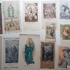 Postales: LOTE ESTAMPAS RELIGIOSAS . Lote 114352855