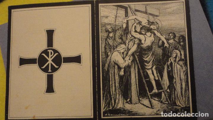 Postales: RECUERDO FUNERAL.JUAN CUGAT PAMIES.REUS.TARRAGONA 1949 - Foto 2 - 114660019