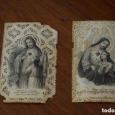 Postales: ESTAMPAS RELIGIOSAS ANTIGUAS. Lote 114679995