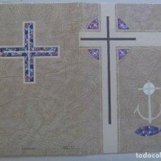 Postales: RECORDATORIO DE SEÑORA FALLECIDA EN MADRID EN 1972. Lote 114692343