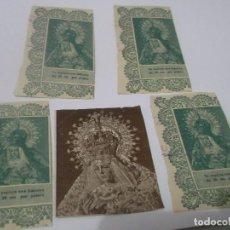Postales: ANTIGUOS RECORTES DE VIRGEN MARIA . UTRERA . SEVILLA. Lote 114981659