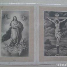 Postales: RECORDATORIO DE SEÑORA VIUDA FALLECIDA EN 1968. Lote 114998391