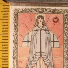 Postales: SANTORAL DEL DIA - SANTO - ESTAMPA O CROMO RELIGIOSA - SANTA AGUEDA VIRGEN. Lote 115037471