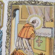 Postales: SANTORAL DEL DIA - SANTO - ESTAMPA O CROMO RELIGIOSA - SAN CARLOS BORROMEO. Lote 115201891