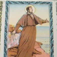 Postales: SANTORAL DEL DIA - SANTO - ESTAMPA O CROMO RELIGIOSA - SAN FRANCISCO JAVIER. Lote 115231747