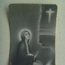 Postales: RECORDATORIO SEÑORITA FALLECIDA EN MADRID EN 1948. Lote 115946759