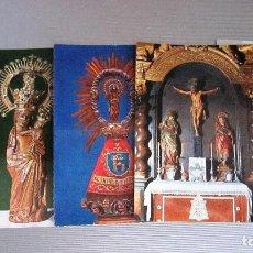 Postales: MUY ANTIGUAS POSTALES RELIGIOSAS AÑOS 50/60. Lote 116235607