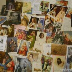Postales: 50 RECORDATORIOS RELIGIOSOS. Lote 116385471