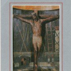 Postales: CASTILLO DE XAVIER .SANTO CRISTO .TALLA DE NOGAL DEL SIGLO XIII. Lote 116449347