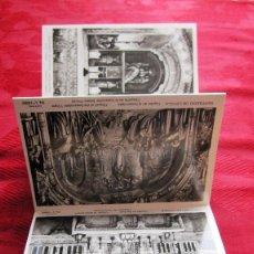 Postales: DESPLEGABLE 10 POSTALES /FOTOS RELIGIOSAS: SANTA CASA DE LOYOLA. Lote 116604599
