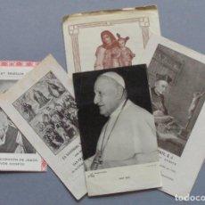 Postales: LOTE DE RECORDATORIOS RELIGIOSOS. Lote 116682467