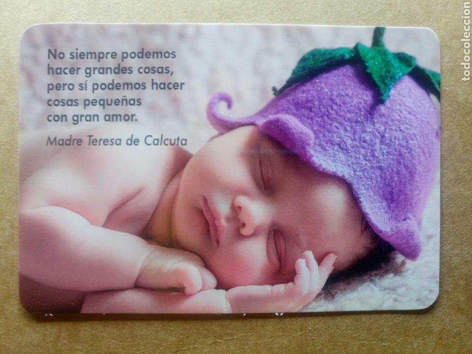 Calendario 2018 Bebe Con Frase Madre Teresa De Comprar Postales