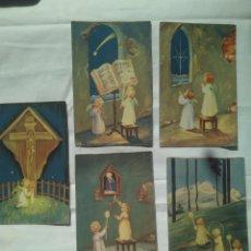 Postales: 6 POSTAL DIFICILES DE ENCONTRAR. CASA BAÑERES. ANGELES. AÑOS 40. Lote 117101111