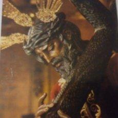 Postales: BONITA FOTO ESTAMPA CRISTO LA SALUD ( LOS GITANOS)SEVILLA.FOTO HARETON AÑOS 80. Lote 117482470