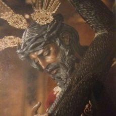 Postales: ANTIGUA FOTO POSTAL CRISTO LA SALUD (LOS GITANOS)SEVILLA AÑOS 80. Lote 117482663