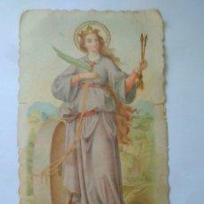 Postales: BONITA ESTAMPA SANTA CRISTINA SEVILLA AÑOS 60 SOB.IZQUIERDO CROMO. Lote 117524166