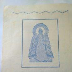 Postales: FUNCION SOLEMNE 1972 SANTUARIO DE CONSOLACION,INTENCIONES DE MISA.SALVADOR DE QUINTA. Lote 117540670