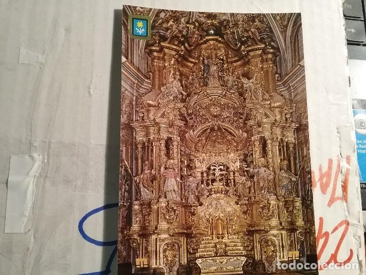 POSTAL EL ALTAR DEL SANTUARIO DE EL MIRACLE (SOLSONA) (Postales - Postales Temáticas - Religiosas y Recordatorios)