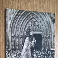 Postales: POSTAL DE LA VIRGEN DE VALENCIA. Lote 118666679