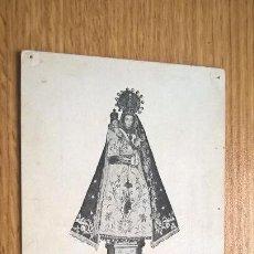 Postales: POSTAL ANTIGUA DE LA VIRGEN DE CALDES DE MONTBUY. Lote 118666811