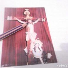 Postales: ANTIGUO RECORDATORIO CRISTO DE LA SANGRE .PARROQUIA SAN ANTÓN - ELCHE. Lote 118837731