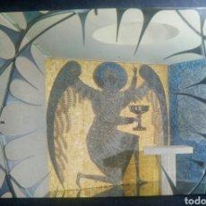 Postales: POSTAL COVENTRY CATEDRAL GRAN BRETAÑA MURAL EN LA CAPILLA CRISTO DE GETHSEMAME. Lote 118838359