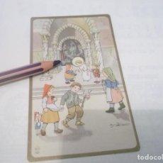 Postales: ANTIGUO RECORDATORIO NIÑO JESUS . DIBUJOS CON FIRMA . Lote 118847191