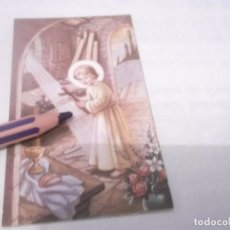 Postales: ANTIGUO RECORDATORIO NIÑO JESUS . DIBUJOS CON FIRMA . Lote 118847311