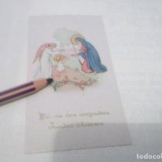 Postales: ANTIGUO RECORDATORIO NIÑO JESUS . DIBUJOS . Lote 118847727