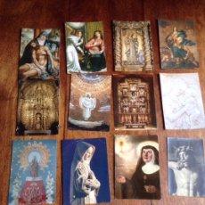 Postales: LOTE 12 POSTALES RELIGIOSAS Y REGALO. Lote 118926582